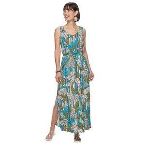 NWT Apt. 9 Challis maxi dress size small
